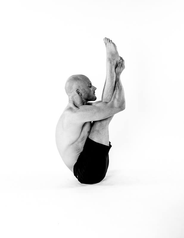 yoga image of upward stretching in the bikram series